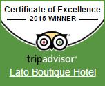 Tripadvisor Certificate of Excellence 2015